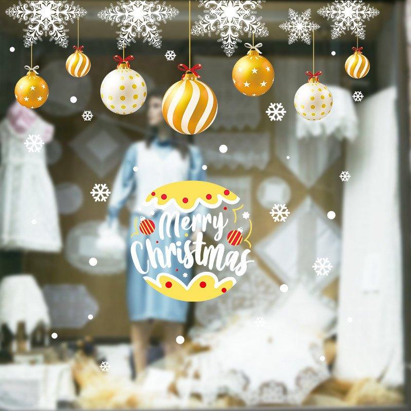 Decal dán tường MerryChristmas 2021 Xmas