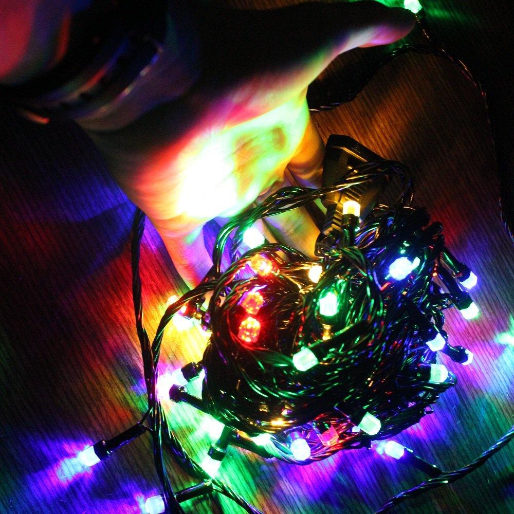 Dây đèn led 7 màu trang trí