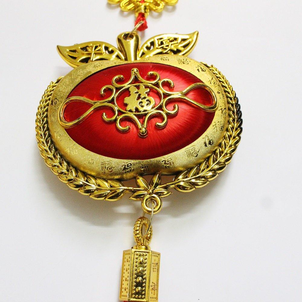 Lộc treo táo vàng trang trí tết