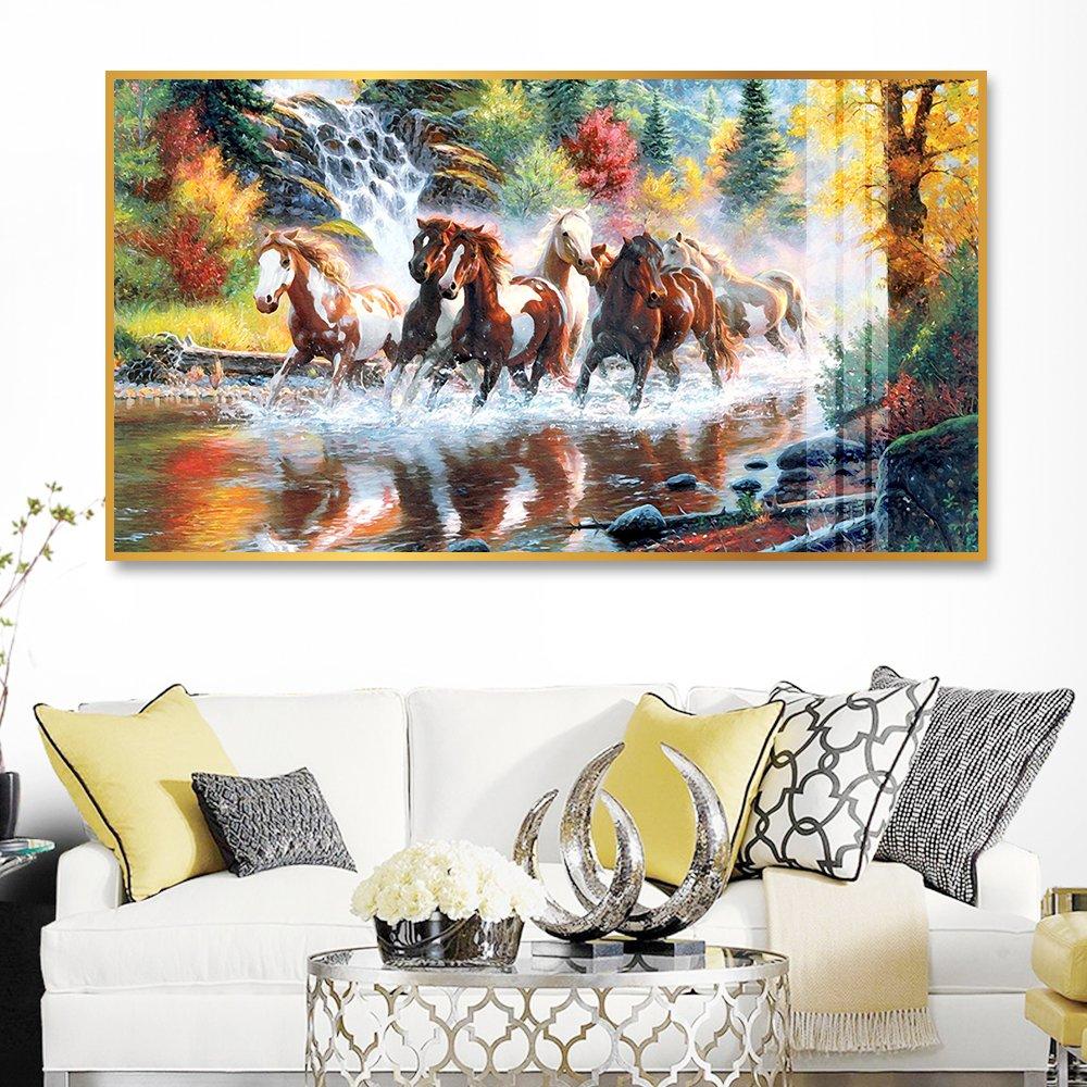 Tranh treo tường ngựa phi nước đại 4 (HG)