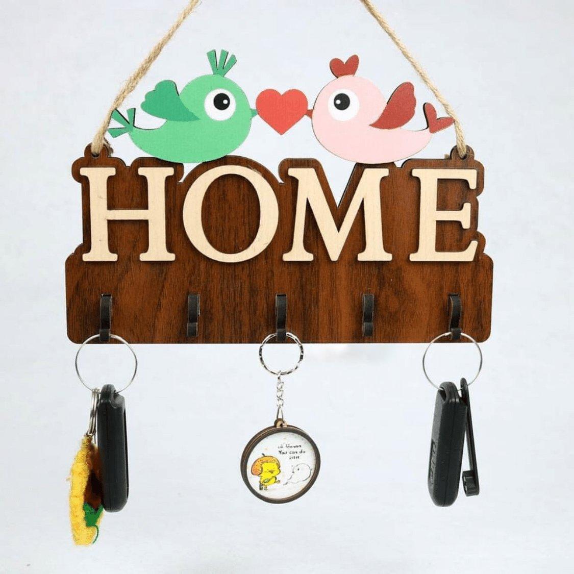 Bảng gỗ handmade trang trí nhà Home mẫu 05