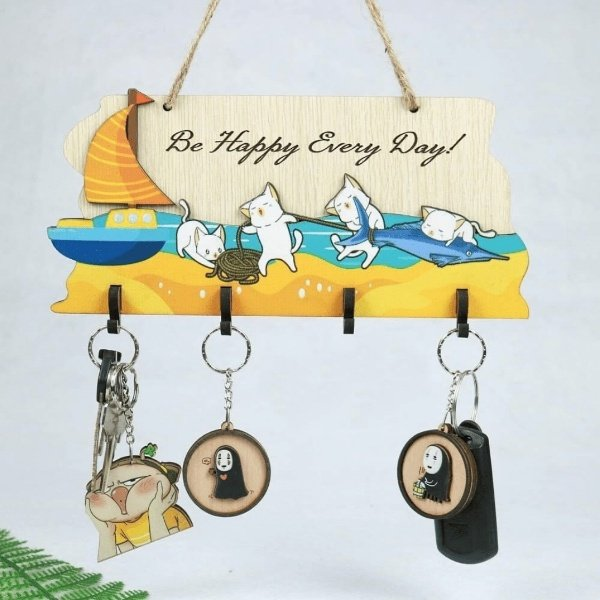 Bảng treo handmade Be happy every day