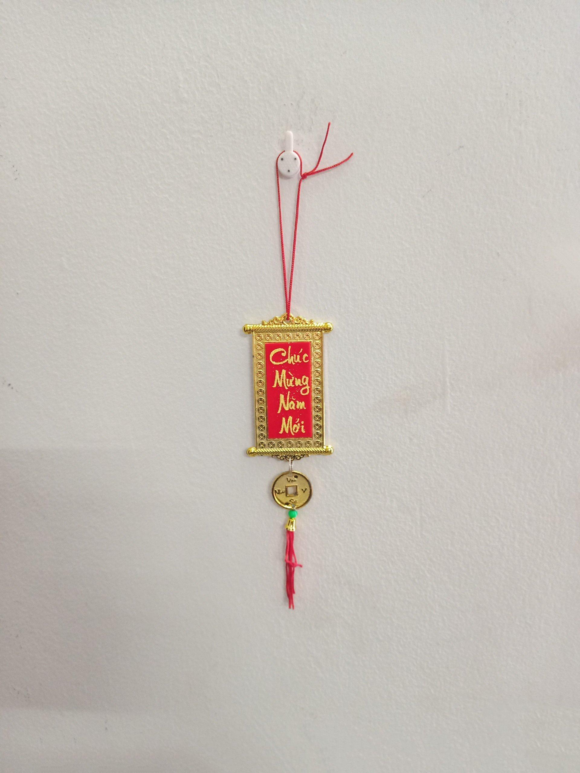 Dây lộc treo trang trí tết Chúc mừng năm mới (bộ 10 dây)