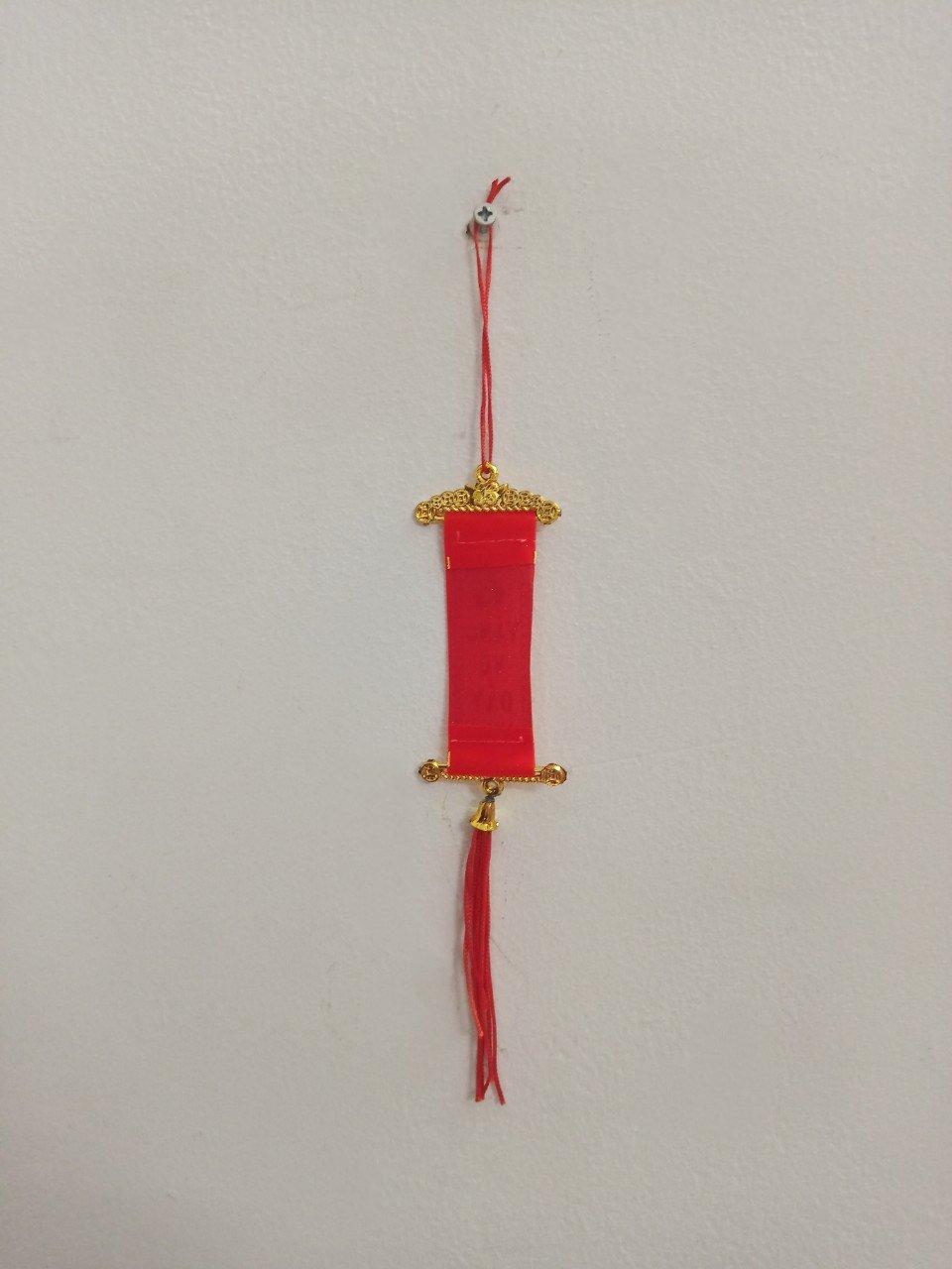 Liễn Đỏ Mini Chữ Phúc Vàng Vô Đầy Nhà Trang Trí Tết