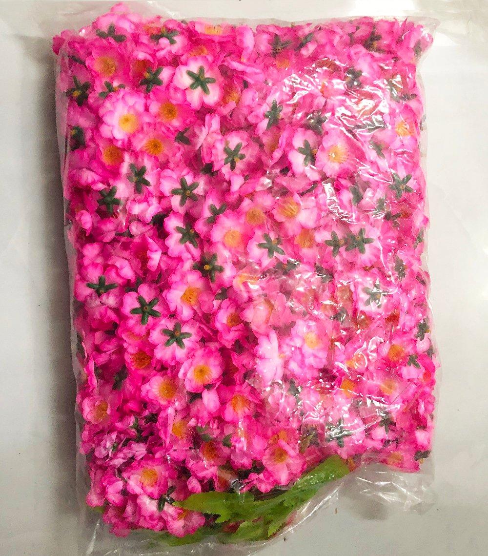 Bịch hoa đào giả 1kg trang trí tết