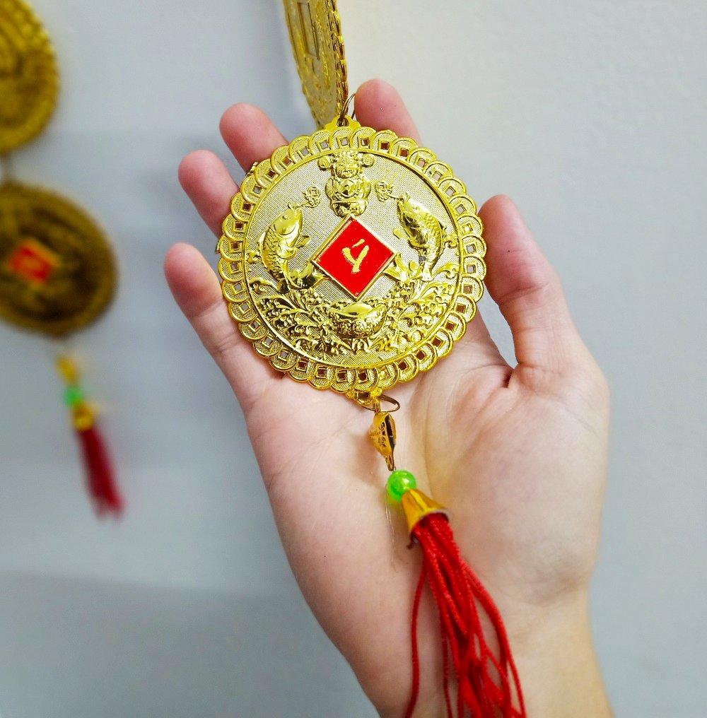 Dây Lộc Treo Đồng Tiền Cá Vàng 29 mẫu 2