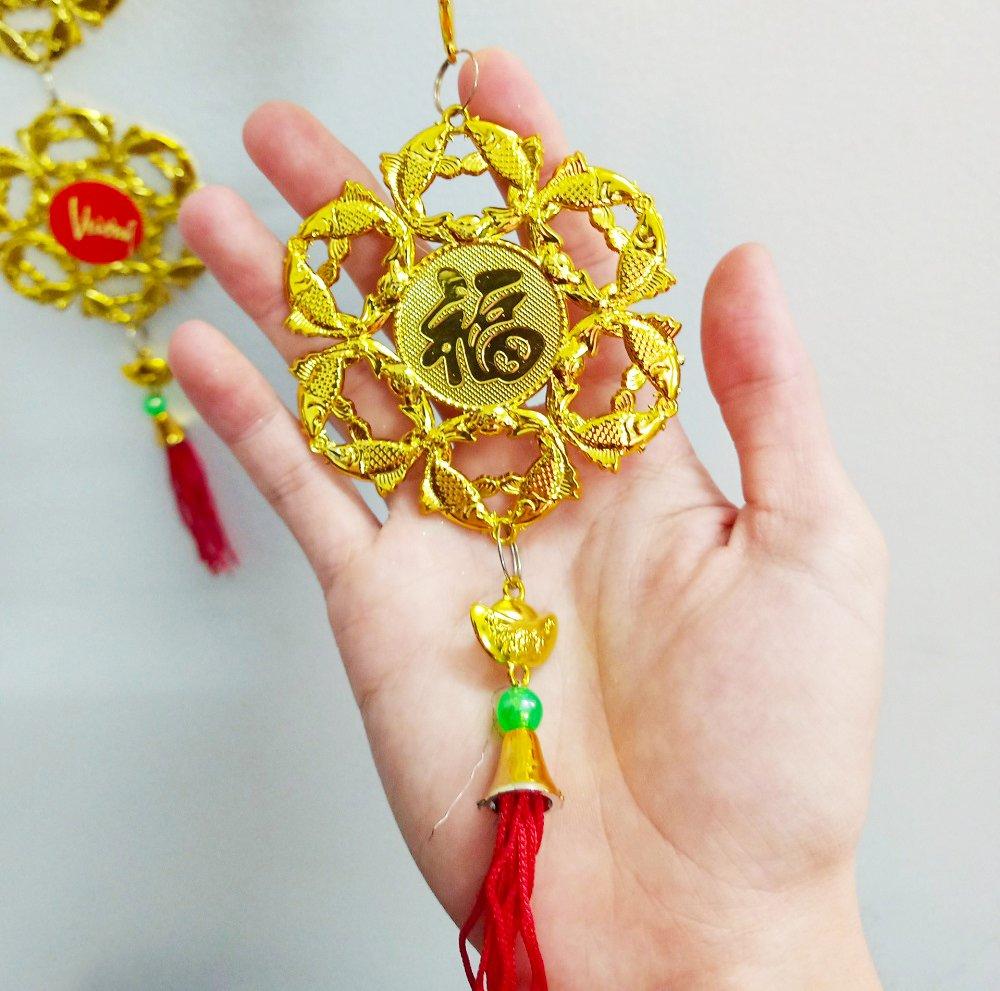 Lộc treo trang trí tết Cá vàng Chúc mừng năm mới-Vạn sự như ý