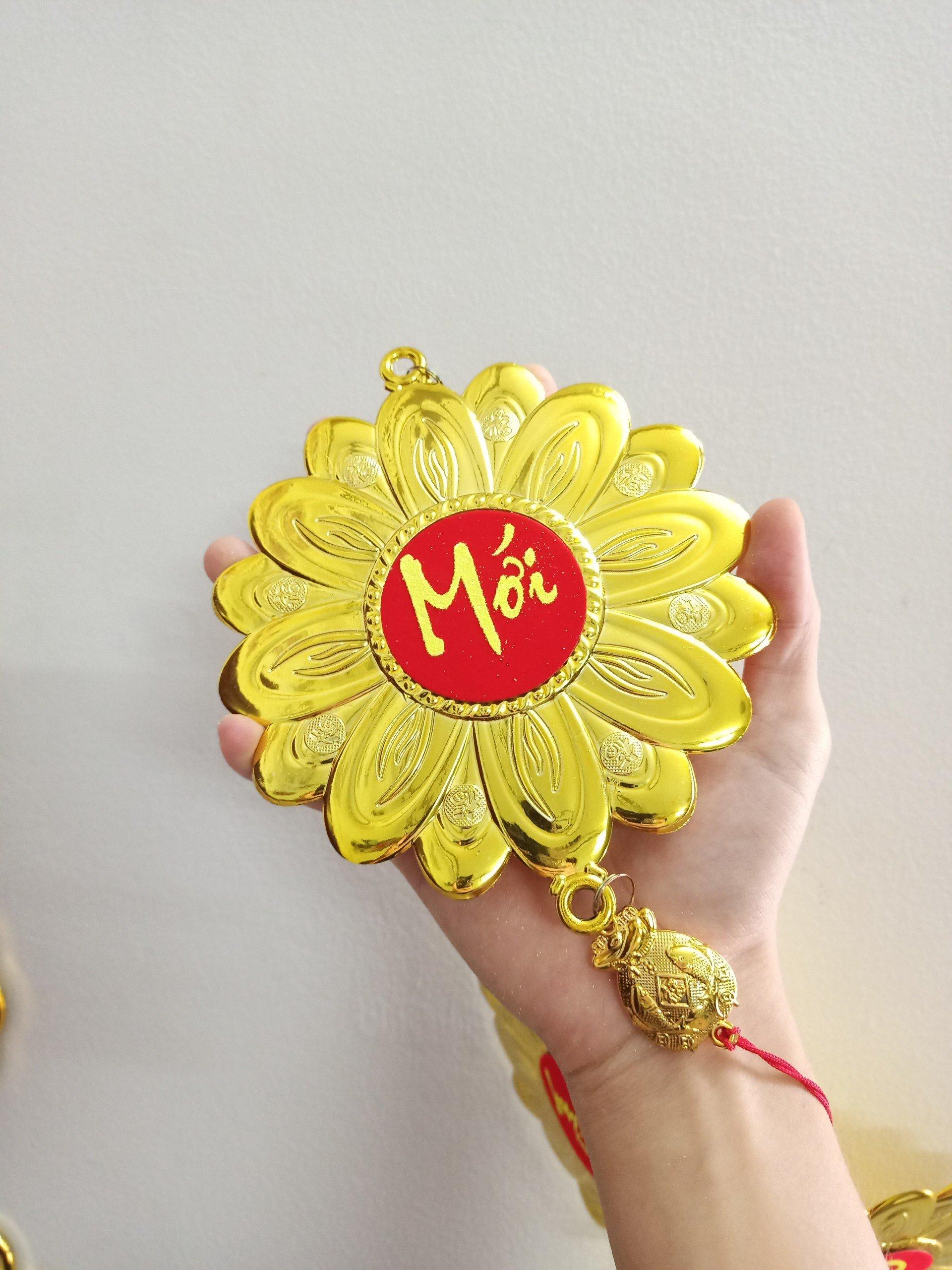 Lộc Treo Trang Trí Tết Hoa mai vàng Chúc Mừng Năm Mới-Vạn Sự Như Ý