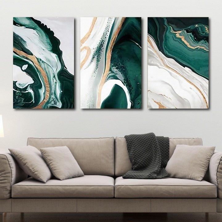 Tranh treo tường trừu tượng sắc màu 2