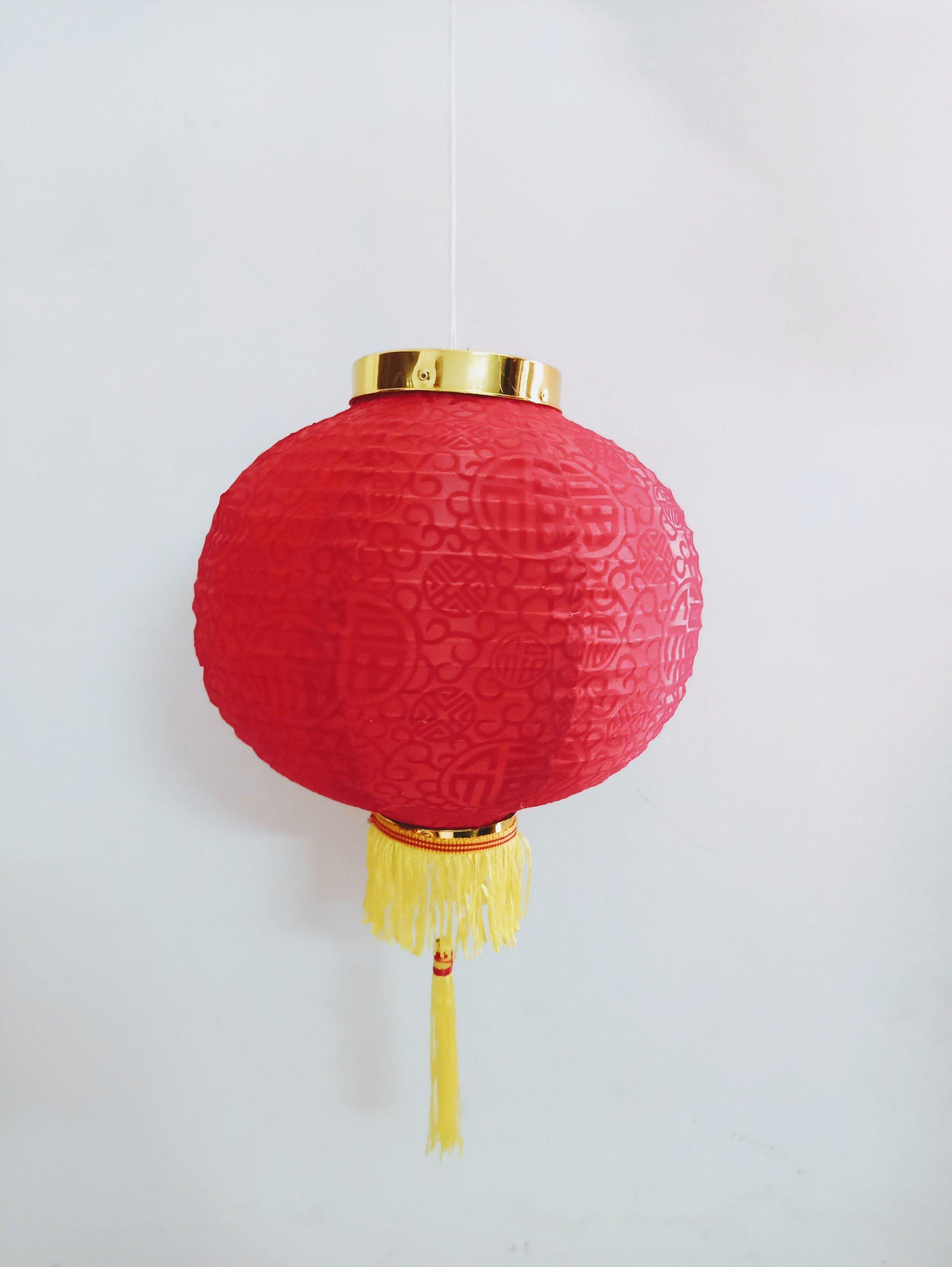 Đèn lồng đỏ trang trí tết 04