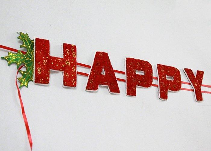 Dây Chữ Happy New Year Trang Trí Tết 01