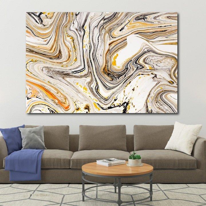 Tranh treo tường trừu tượng sắc màu 3