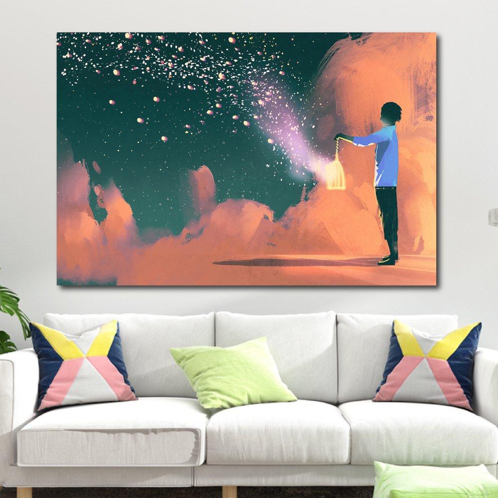 Tranh treo tường những ánh sao