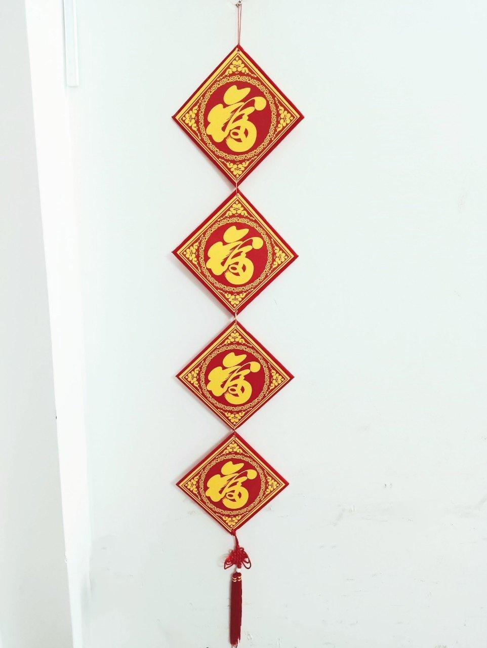 Liễn chữ Tấn Tài Tấn Lộc trang trí tết