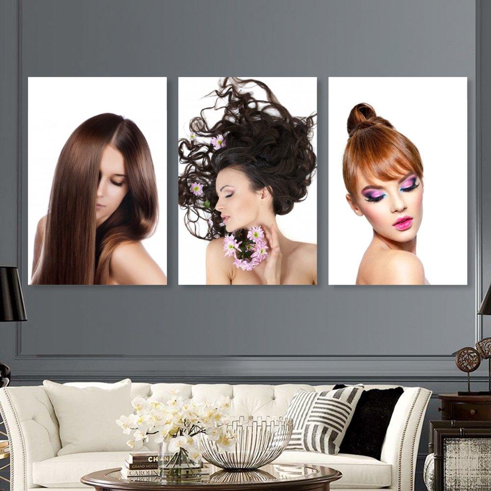 Tranh Treo Tường tóc nghệ thuật