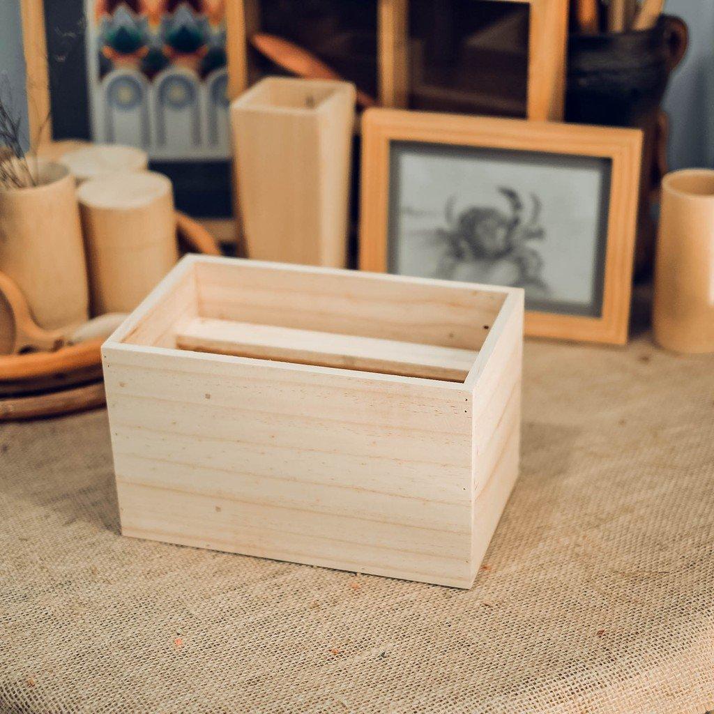 Hộp gỗ chữ nhật 25x15x15