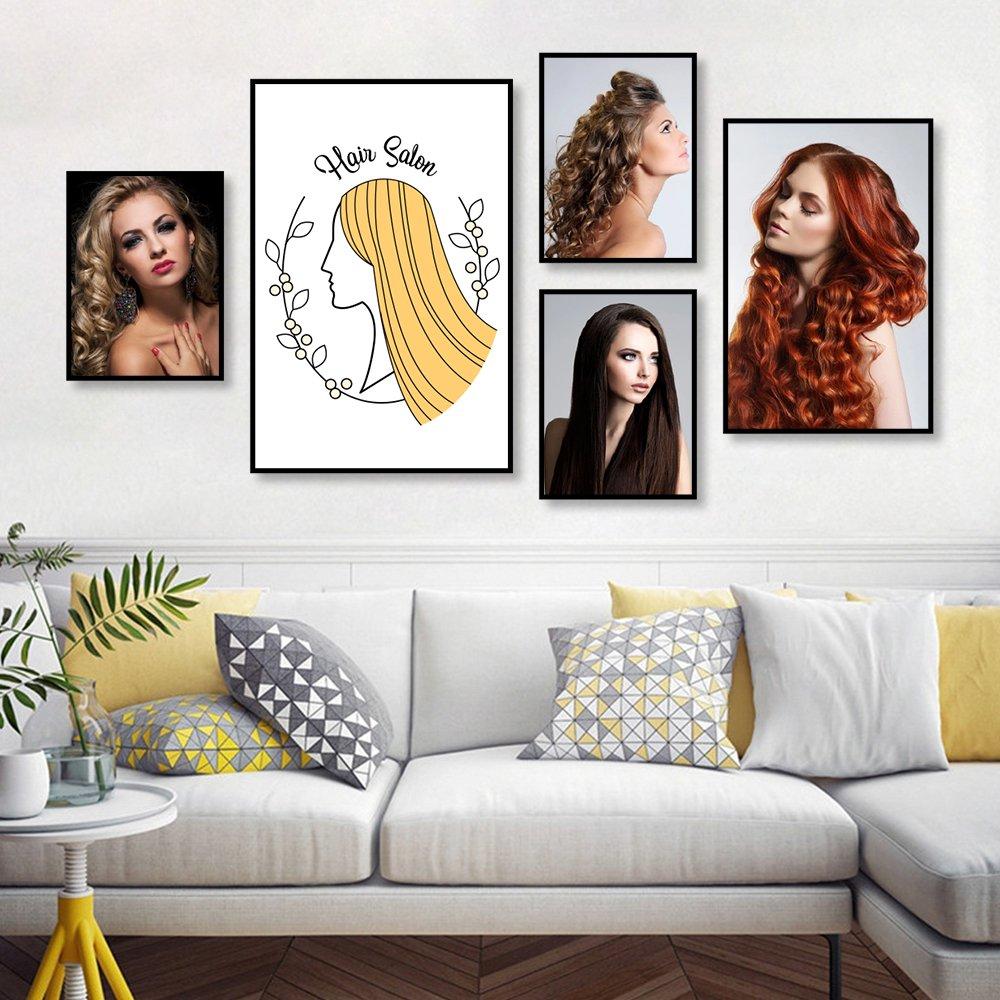 Tranh treo tường tóc nghệ thuật 6