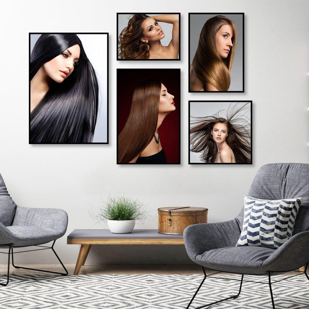 Tranh treo tường tóc nghệ thuật 9