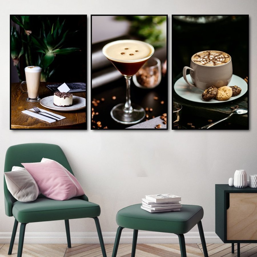 Tranh treo tường coffee capuchino (S)