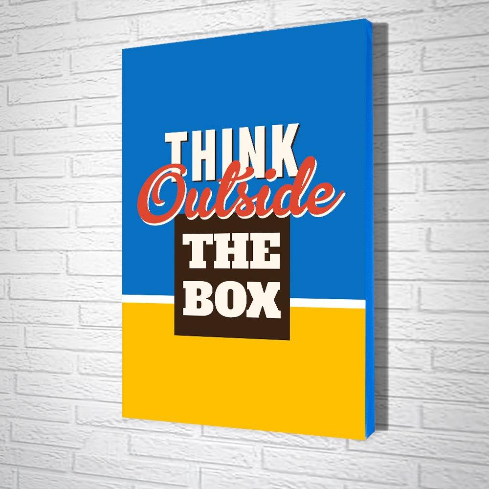 Tranh Văn Phòng Think Outside The Box