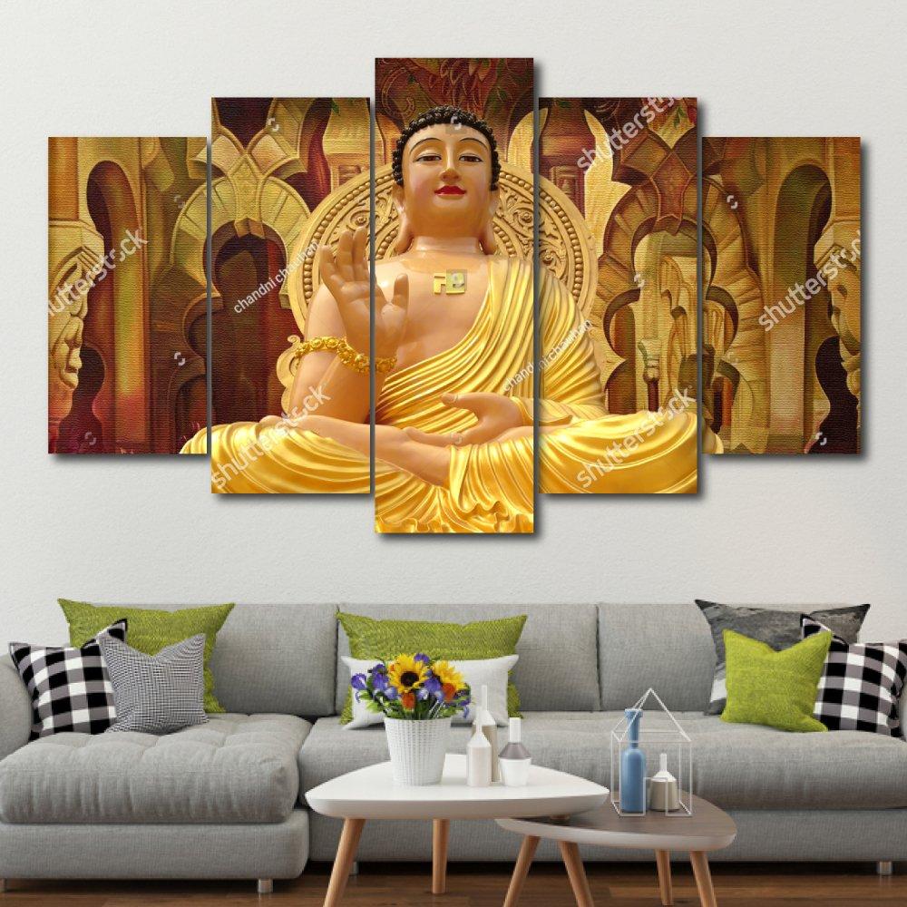 Bộ tranh treo tường 3d Đức Phật 6