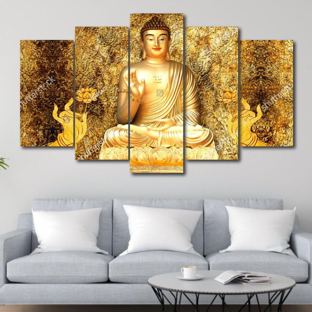 Bộ tranh treo tường 3d Đức Phật 7