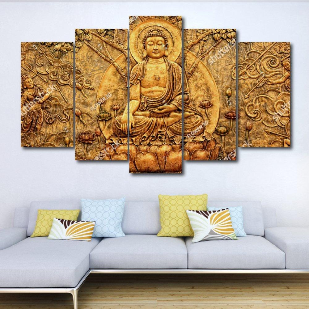 Bộ tranh treo tường 3d Đức Phật 8