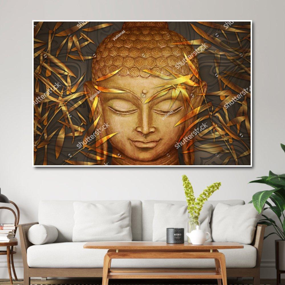 Tranh Treo Tường 3d Đức Phật 2