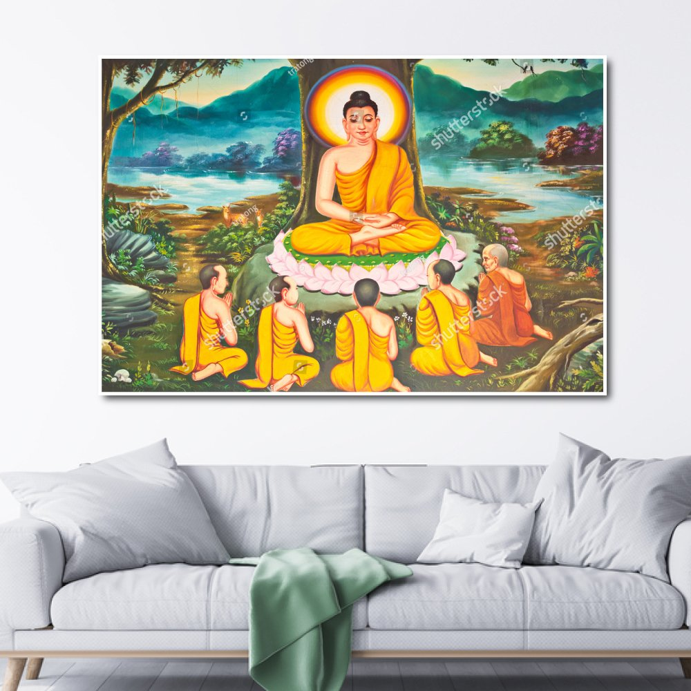 Tranh Treo Tường 3d Đức Phật