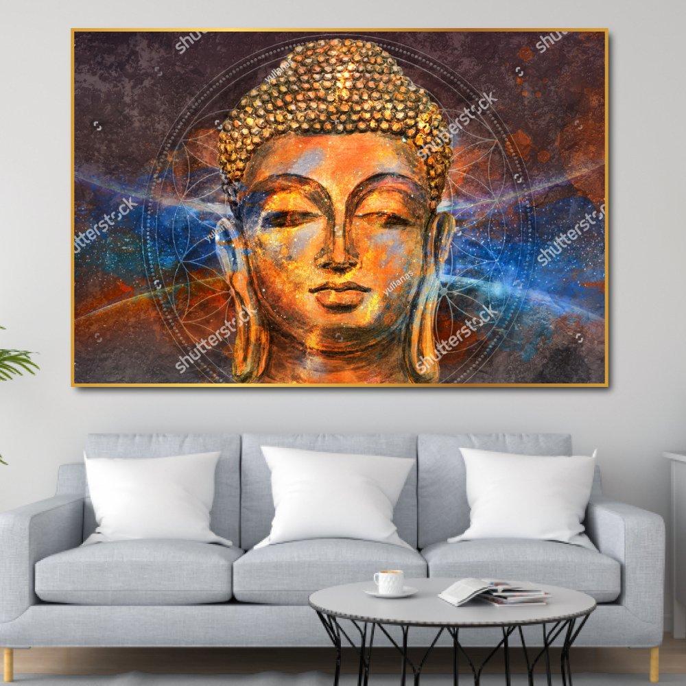 Tranh Treo Tường 3d Đức Phật 3