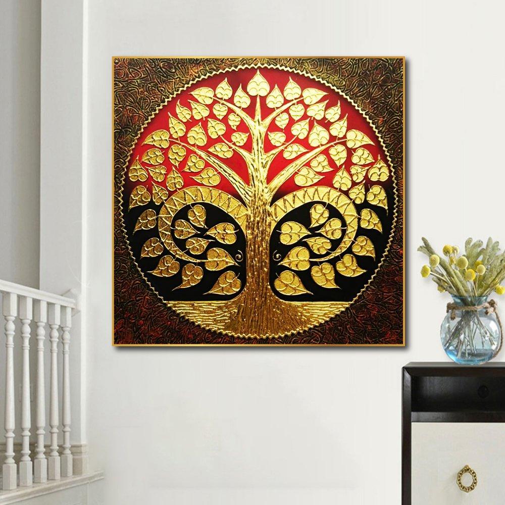 Tranh treo tường nghệ thuật Cây Lá Vàng