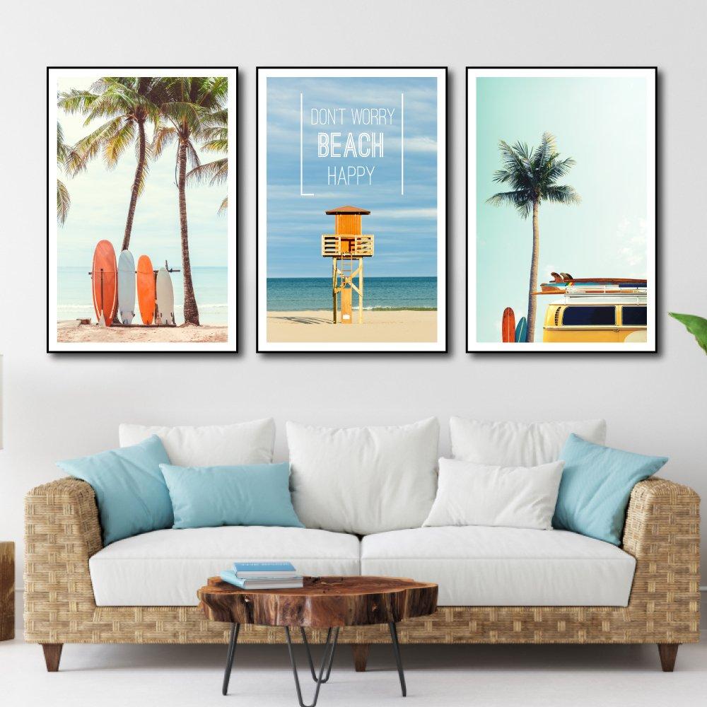 Tranh treo tường cảnh biển 5