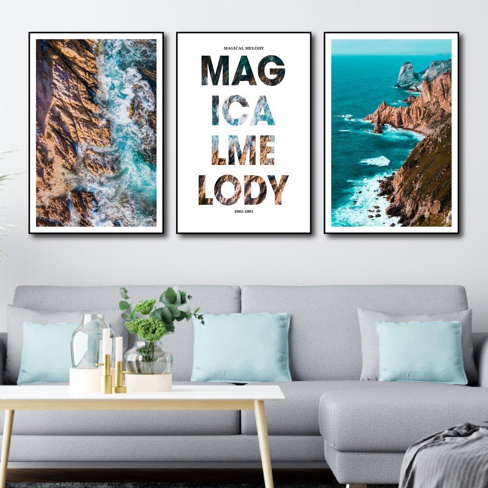Tranh treo tường cảnh biển magical melody