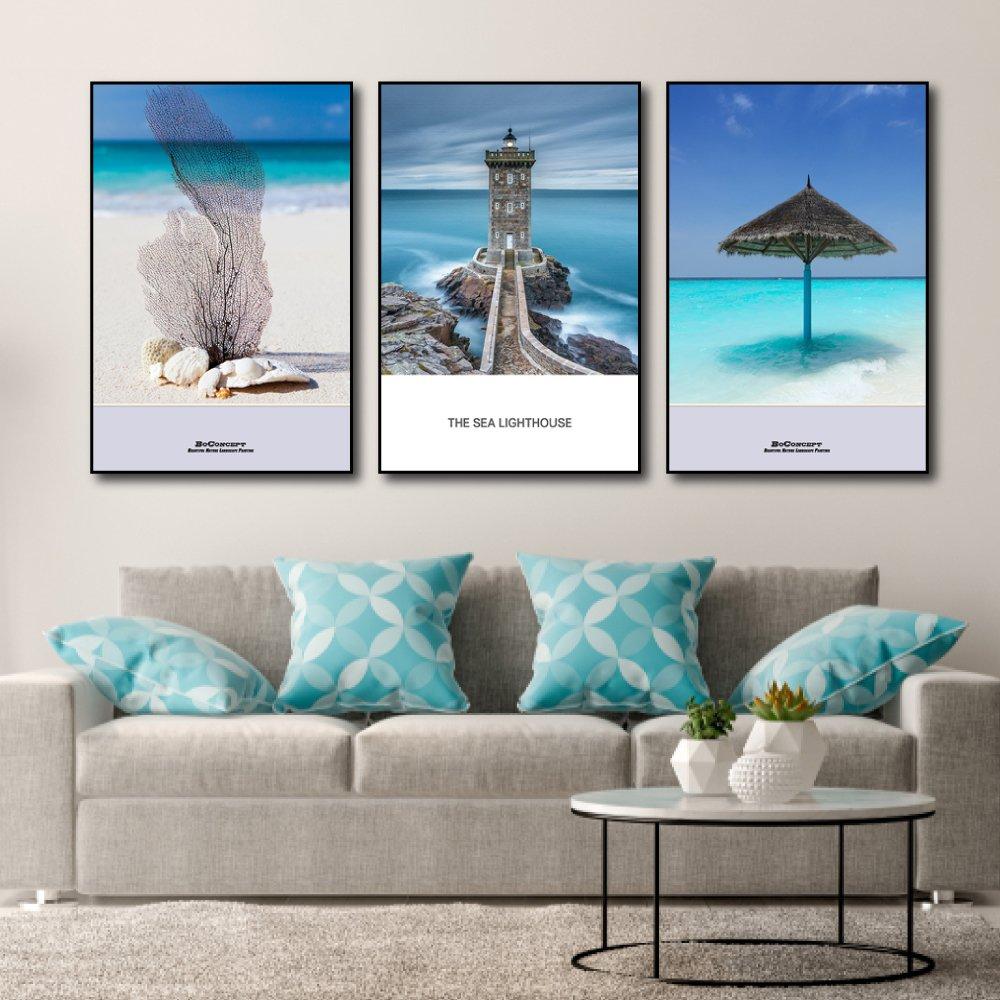Tranh Treo Tường The Sea Lighthouse