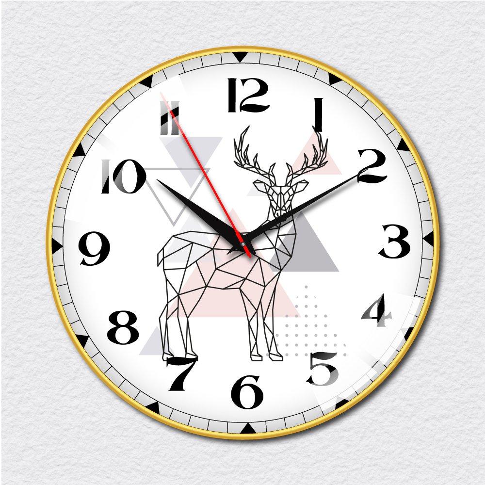 Đồng hồ vintage hươu cách điệu