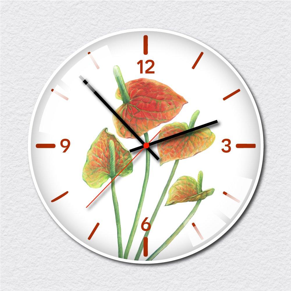 Đồng hồ vintage hoa hồng môn đỏ