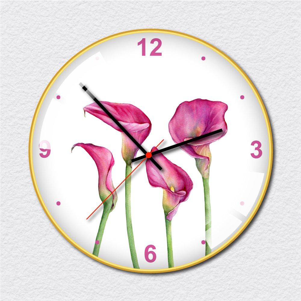 Đồng hồ vintage hoa hồng môn tím