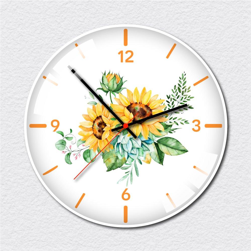 Đồng hồ vintage hoa hướng dương 6