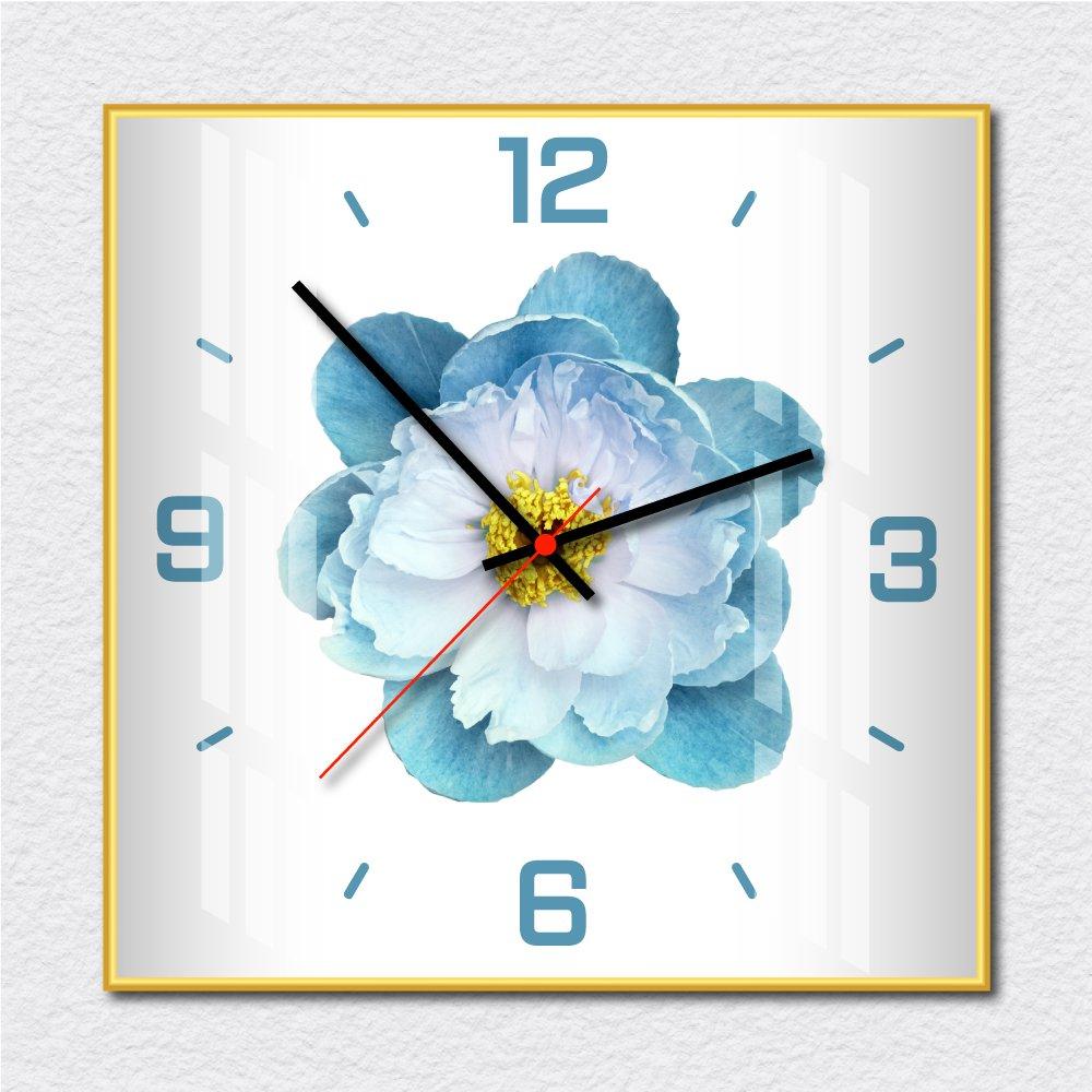Đồng hồ vintage hoa xanh 2
