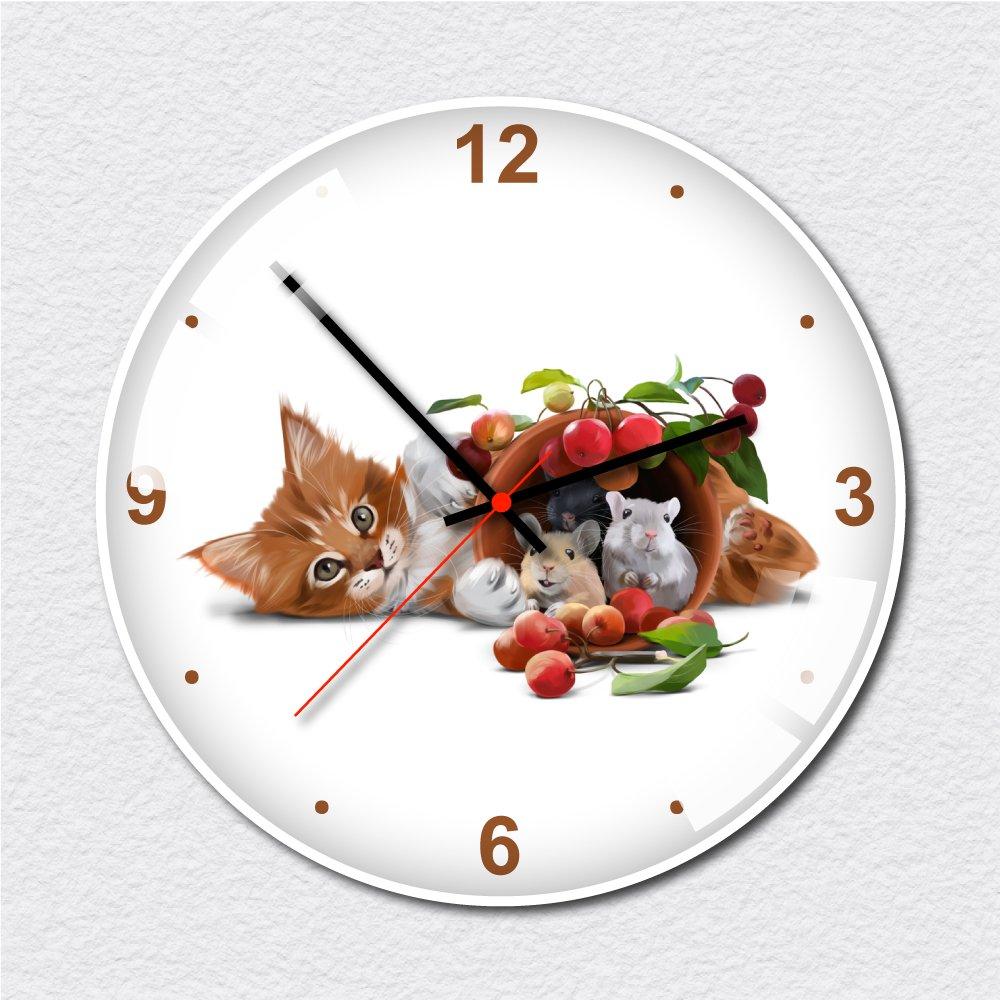 Đồng hồ vintage mèo nhỏ