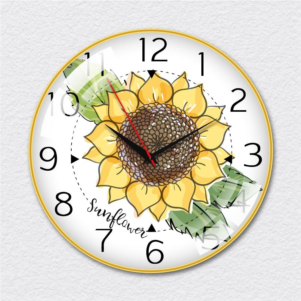 Đồng hồ vintage hoa hướng dương 4