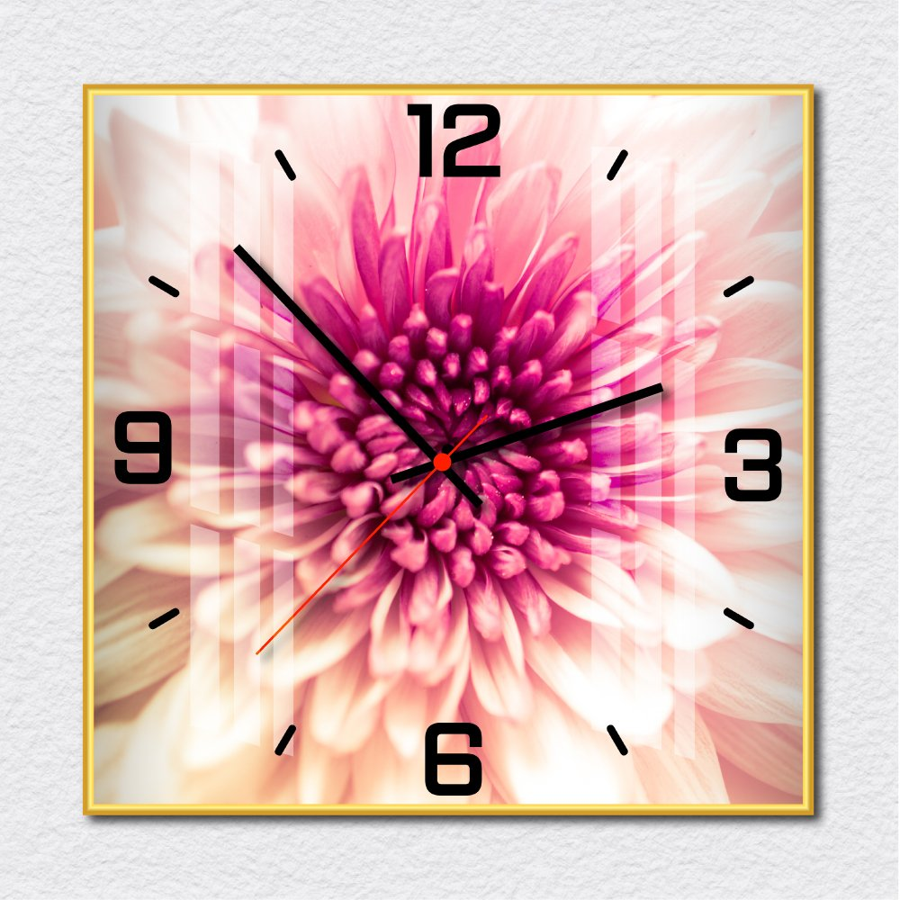 Đồng hồ vintage hoa cúc tím