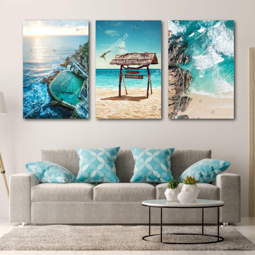Tranh Treo Tường Phong Cảnh Biển 8