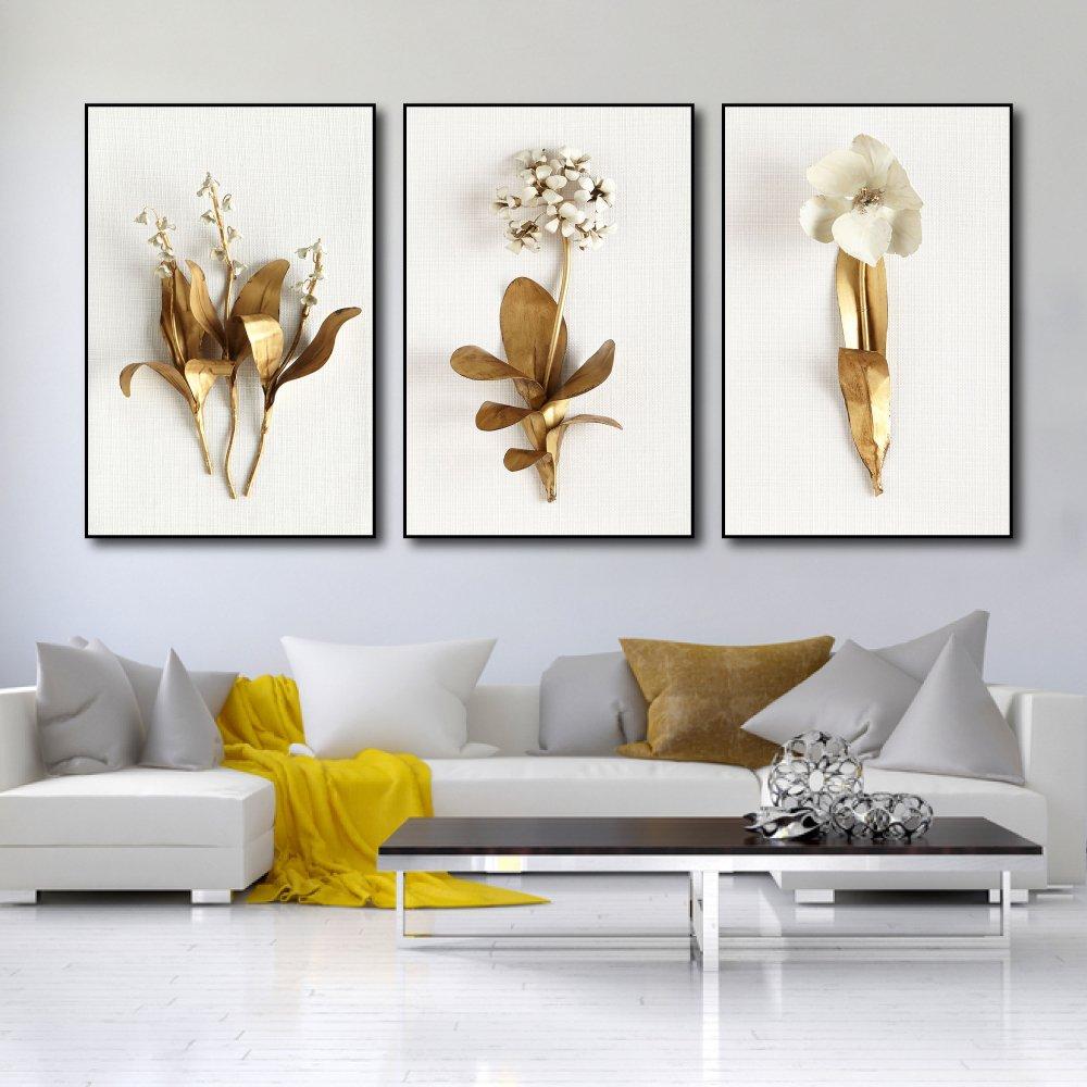 Tranh treo tường hoa lan hoàng kim