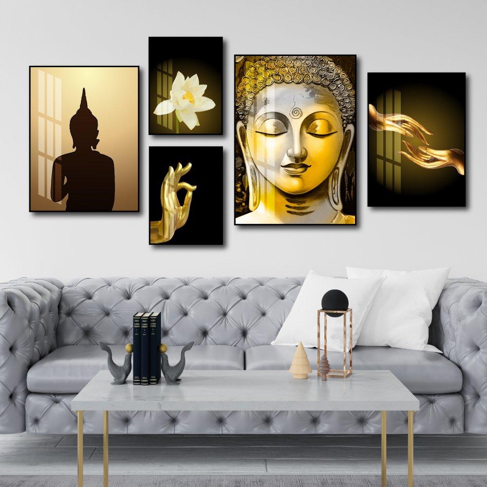 Tranh treo tường Phật giáo tĩnh lặng