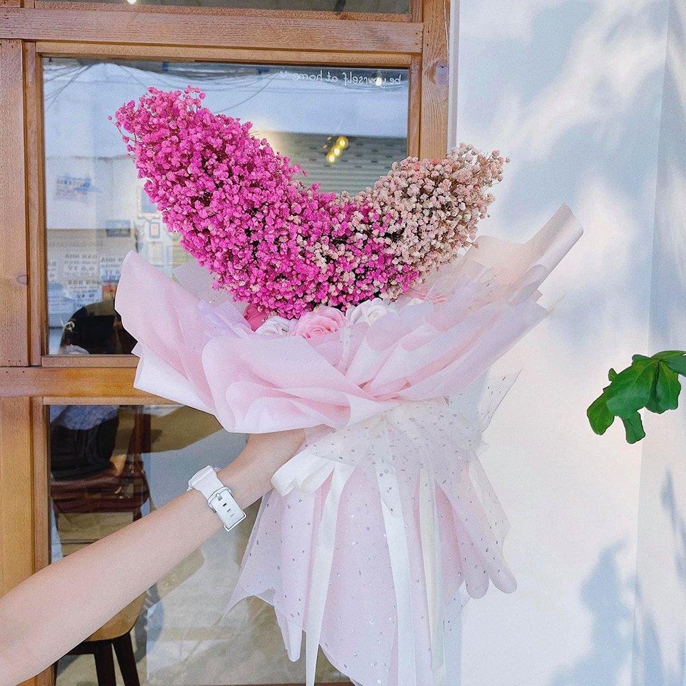Lọ hoa sáp sắc màu