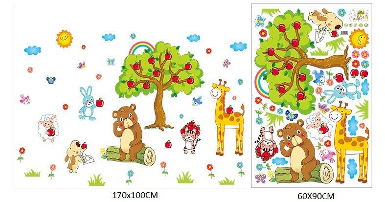 Vườn thú và táo đỏ
