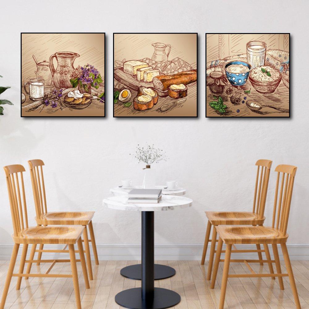 Tranh treo tường nghệ thuật trang trí bếp phòng ăn