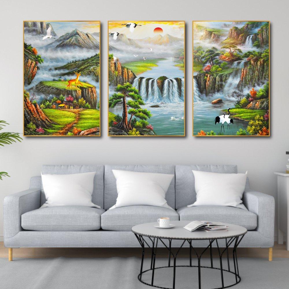 Tranh treo phong cảnh sơn thủy