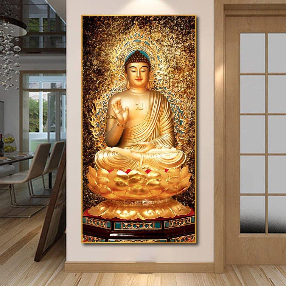 Tranh treo tường Phật A Di Đà